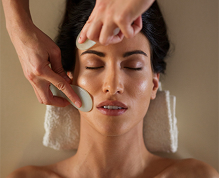 Gua sha Face lift Evitalization